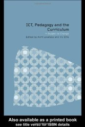 Cover Buku ICT, Pedagogy and Curriculum